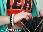 Creampie loving redheaded teen