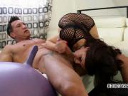 Belle Noire takes some dick in her hot twat