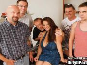 Big Boob Raquel Raxxx Dirty D Party!