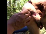 Latin bareback lover gets his ass toyed