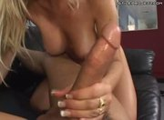 Andrea - MILF fucks and gives a mean handjob