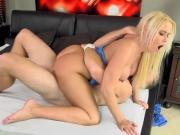 Chesty Mature Babe Savannah Steele Loves Riding Lover