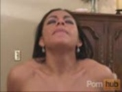 Angela fucks until she gets a warm creampie