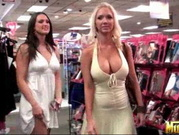 Molly And Misty - Shopping & Teasing