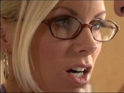 Blonde Milf  Secretary Must Relax