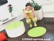 Little Caprice - Green Fishnets Fuck
