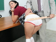 Spanked And Fucked By Her Horny Teacher