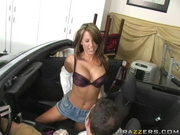 Cheating Wife Lezley Zen Fucks In A Mustang