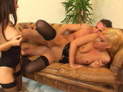 Jennyfer & Xandra Brill Threesome