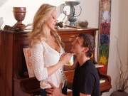 Julia Ann good fuck on the piano
