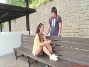 Amateur Girl Helena Fucked In Public Place