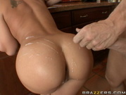 Rachel Starr - Jizzed On Her Hot Ass
