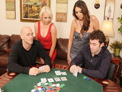 Poker Game Turns Into Wild Orgy