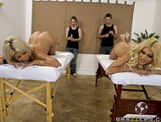 Carmel Moore And Bridgette B - A Steamy Orgy