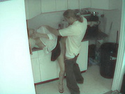 Office Kitchen Kink - Caught On Spycams