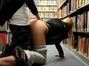 Sexy teen girl gets fucked in school