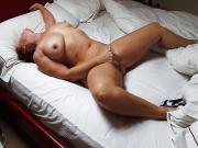 My wife pleasuring herself