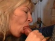 Wife gives a Blowjob