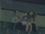 Amateurs caught on Cam having Sex in Stadium