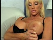 Balloon tited blonde prefers cock