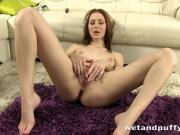 Peeing brunette slut is so damn fine