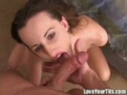 Sarah Jade gives excellent Blowjob