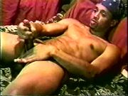 Black man playing with his dick