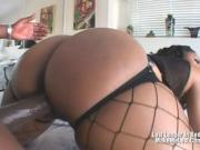 Big Tits Ebony Carmen Hayes Fucked From Behin