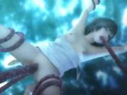Yuffie fucked by Tentacles
