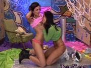 Missy anal teen Hairy Kim and shaved Janet