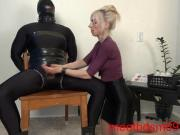 Secretarys Scheme bondage, tease and denial