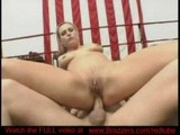 Wet deep blowing and both holes fucked