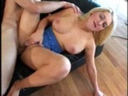 Big tited blonde fucked by old lecher
