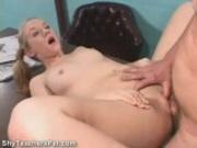 18yo Blonde having Sex with Teacher