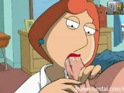 Family Guy Hentai - Naughty Lois wants anal