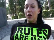 Jb HotKinkyJo - Public fisting in Rome