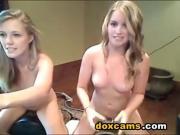 Homemade lesbian twins live