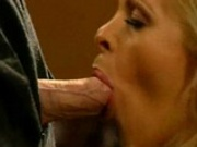 Hot glamour sex with blond babe