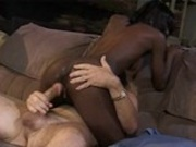 Sperm on black skin - that`s sexy