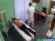 Ms Evans loves doctors special massage