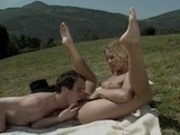 Julie Meadows fucked in free nature