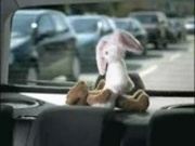 Nasty teen bear fucks Easter bunny