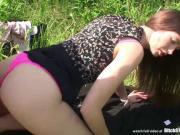 Bitch STOP - Smoking hot brunette slut