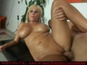 Blond bitch knows how to treat a cock