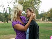 Blonde Lesbian lovers - Viv Thomas hd