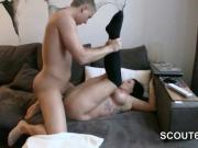 German Step-Mom want to fuck young boy after