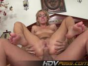 HDVPass Holly gets anal banged and does ATM