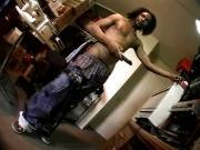 Black guy vaseline wank
