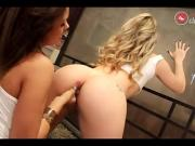 Sarah Lopez And Suzana Rhios - Lesbian Brazil