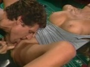 Mature slut gets licked